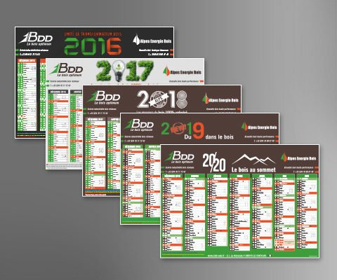 Calendrier - Groupe BDD/AEB