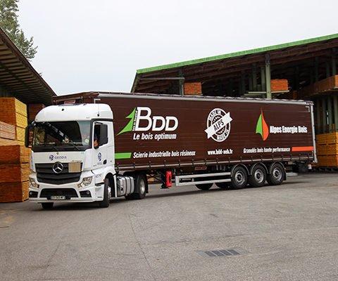 Bâche camion - Scierie BDD